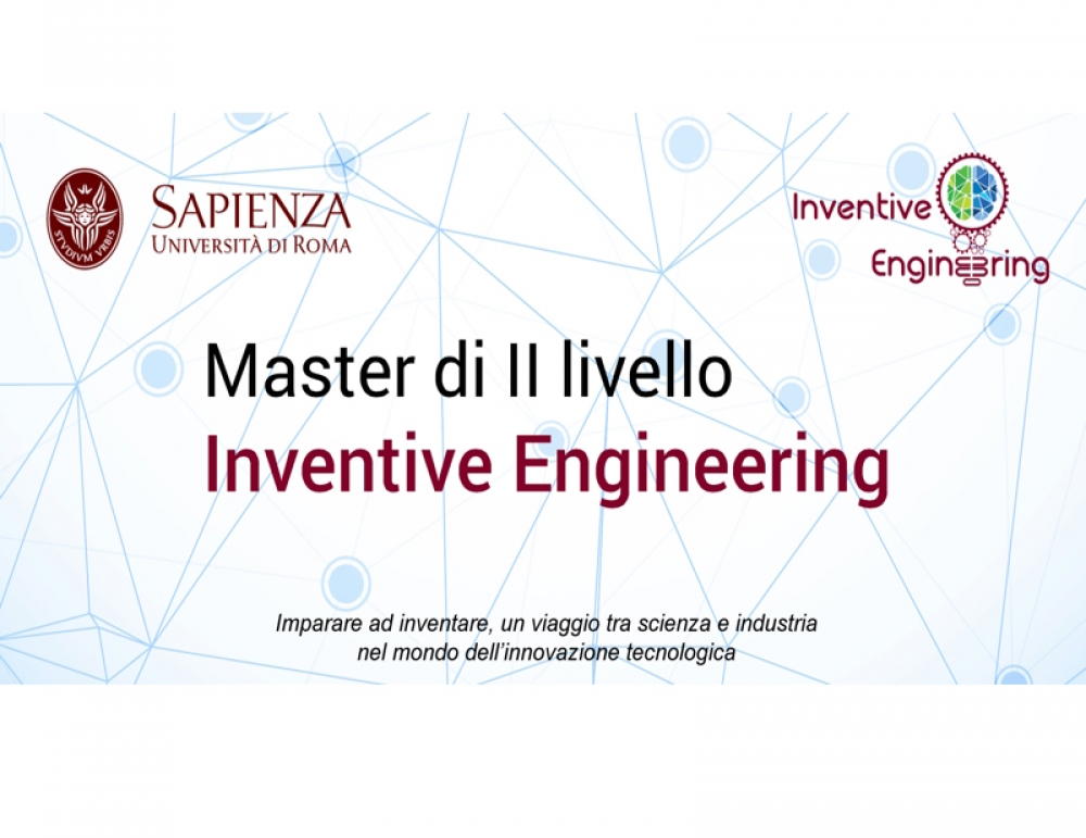 Master di II Livello INVENTIVE ENGINEERING